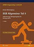 BGB Allgemeiner Teil II: Stellvertretung; Nichtigkeitsgründe für Rechtsgeschäfte (JURIQ Erfolgstraining)