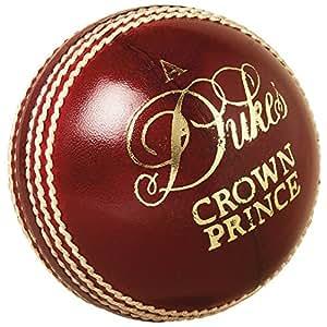 "Dukes Cricket Ball Crown Prince ""A"" Mens 156g (5.5oz) Cricket Match Ball"