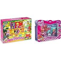 Pinypon- Casa delle Favole per Bambini/E da 4 A 8 Anni, Multicolore, 700016253 & - My Puppy And Me Pack con Due…
