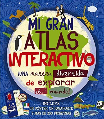 Mi gran atlas interactivo (Castellano - A Partir De 8 Años - Libros Didácticos - Otros Libros)