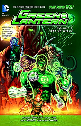 Green Lantern: Volume 5: Test of Wills HC (The New 52)
