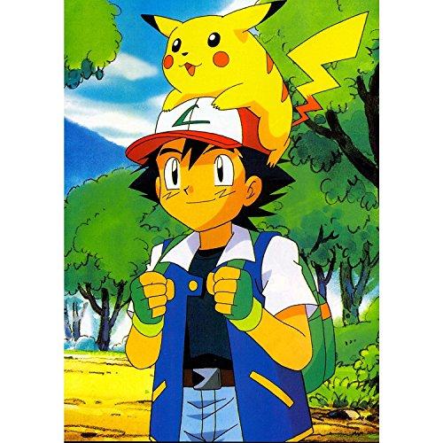 Poster-Cartel-Pikachu-Pokemon-En-Su-Amigo-Sasha