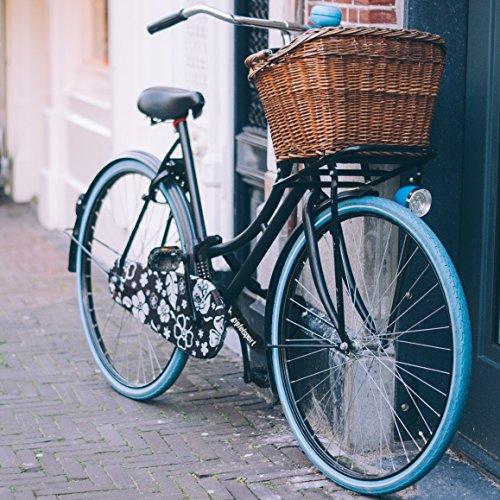 Fahrradschloss von gipfelsport – Zahlenschloss mit Stahlkettengliedern I Kettenschloss für Kinder und Erwachsene   Sicherheitsschloss mit Zahlencode ohne Schlüssel   schwarz - 7