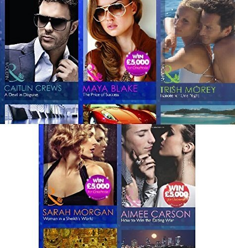 MILLS AND BOON 5 BOOK MODERN SET COLLECTION A DEVIL IN DISGUISE THE PRICE OF SUCCESS WOMAN IN A SHEIKH`S WORLD HOW TO WIN THE DATING WAR FIANCEE FOR ONE NIGHT
