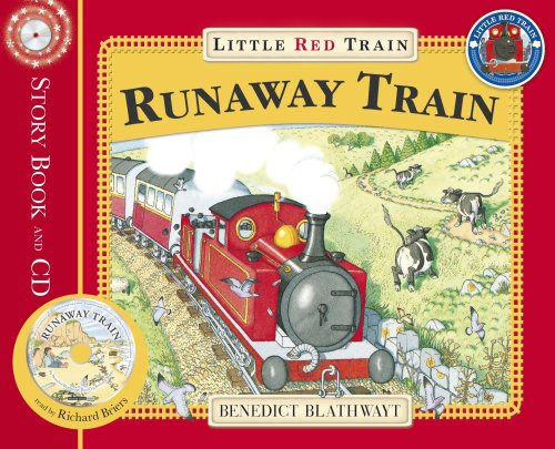 The Little Red Train: The Runaway Train (Book & CD)