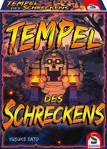 Schmidt Spiele 75046 Tempel des Schreckens, Spiel und Kartenspiel