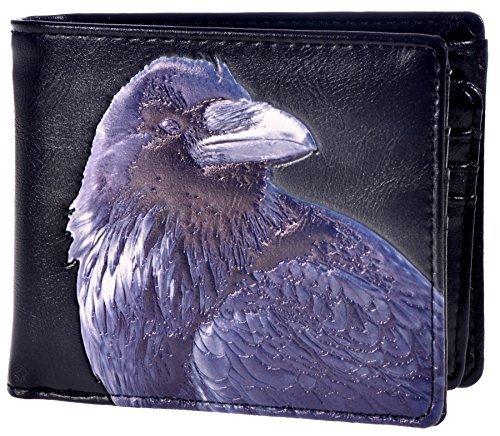Shag Wear Herren Geldbörse Raven -