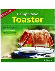 Coughlan's Camp Stove Toaster - Hornillo portátil para acampada, color plateado