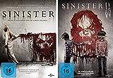 Sinister & Sinister II im Set - Deutsche Originalware  Bild
