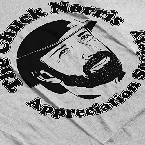 The Chuck Norris Appreciation Society Women's Vest Heather Grey