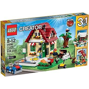 LEGO - 31038 - Creator - Jeu de Construction - Le Changement de Saison
