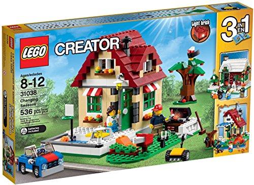 LEGO Creator 31038 - WechselndeJahreszeiten - Schnee Momente Kostbare