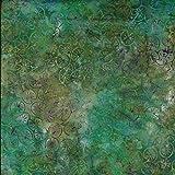 Grün Palette Design 100% Baumwolle Bali Batik tie dye Muster Stoff für Patchwork, Quilten &,–(Preis pro/Quarter Meter)