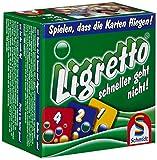 Schmidt Spiele 01201 - Ligretto verde [importado de Alemania]