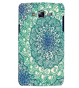 Citydreamz Traditional/Rangoli Design/Abstract Pattern/Floral Print Hard Polycarbonate Designer Back Case Cover For Samsung Galaxy A3