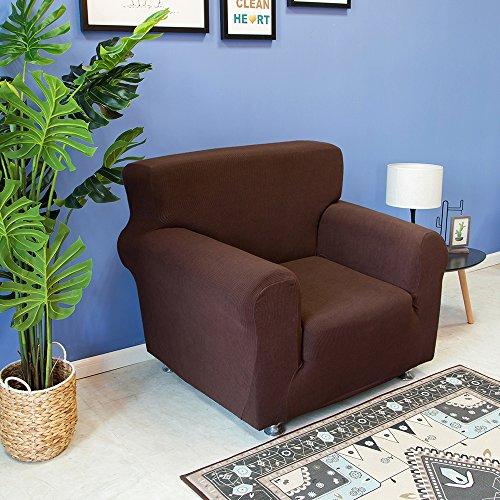 Decdeal Stretch Sofabezug Sofahusse Sesselbezug Sesselhusse in Verschiedene Größe und Farbe