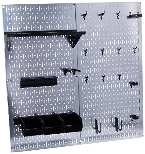 Generic 30-WGL-200GVB Wall Control Galvanized Steel Pegboard Tool Organizer