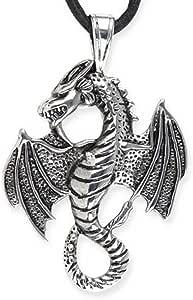 ECHT etNox Dragon - Pendant - Stainless Steel