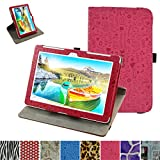 Asus ZenPad 10 Z300CG Rotating Case,Mama Mouth 360 Degree Rotary Stand With Cute Lovely Pattern Cover For 10.1