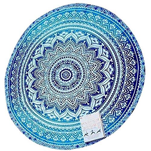yogogo-round-strand-pool-home-duschtuch-decke-tischdecke-yoga-matte-blau
