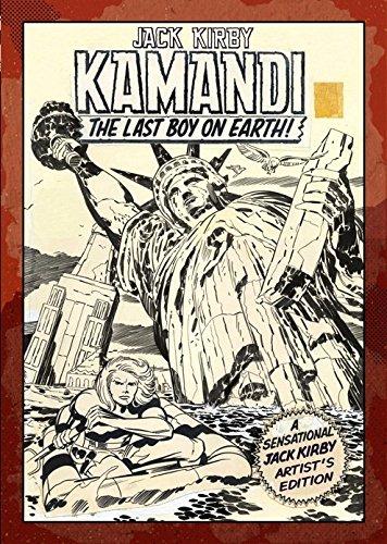 JACK KIRBY KAMANDI ARTIST ED HC 01