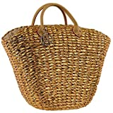 Love Moschino Gold Weaved basket