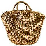 Love Moschino Gold Weaved basket