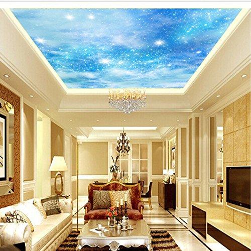 gsly-antibatterico-soffitto-cielo-blu-3d-camera-da-letto-non-tessuto-antinquinamento-sfondi-prezzo-p