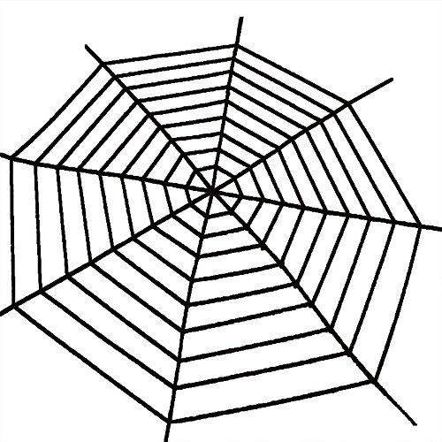 er Riesen Spinnennetz Fest Halloween Party Haus Dekoration 3 Meter (Spinnennetze Dekorationen)
