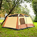 GAZELLE OUTDOORS Large Size Family Tents 6-8 Person Camping Tents by STAR HOME