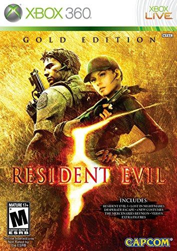 Capcom Resident Evil 5 Gold, Xbox 360, ESP - Juego (Xbox 360, ESP, Xbox 360, Shooter, Capcom, M (Maduro), En línea, ESP)