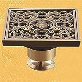 Antike Badezimmer Kupfer Waschbecken Waschmaschine zur Edelstahl filter Anti-foul Entwässerung O gewidmet