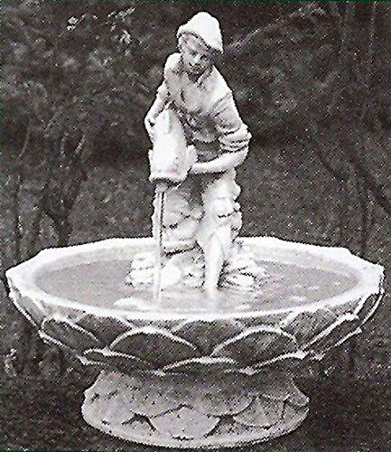 Gartenbrunnen Bordeaux Terracotta