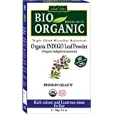 Indus Valley Organic Indigo Powder Hair Color (Pack of 1)