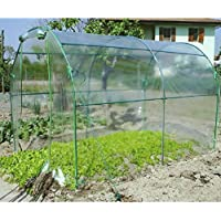 Verdemax Premium Invernadero Túnel, Verde Agua, 200x300x180 cm