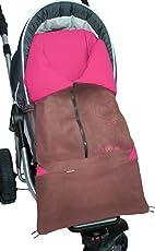 ByBoom® - Fußsack 2in1 Frühjahr, Sommer, Herbst, Universal für Babyschale, Autokindersitz, z.B. für Maxi-Cosi, Römer, für Kinderwagen oder Buggy