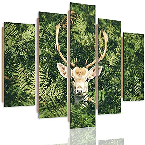 Feeby Frames, Tableau mural - 5 parties - Tableau Déco,
