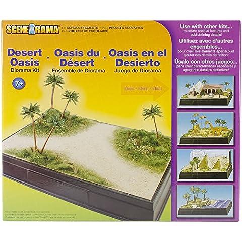 Woodland Scenics Karton Diorama Kit Desert