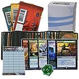 Lotto 50 carte MAGIC IN ITALIANO di cui almeno 5 Rare + 2 Carte Promo + 3 Buste a caso sigillate + Dado segnavita + 1 Segnapunti Andycards
