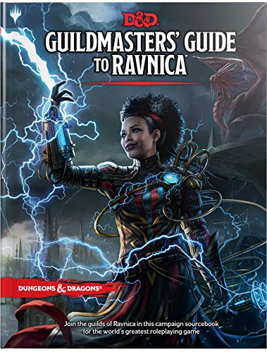 Dungeons & Dragons Guildmasters' Guide to Ravnica / D&D/Magic: The Gathering Adventure Book and Campaign Setting