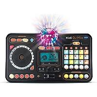 VTech – Kidi DJ Mix, Platine DJ Enfant, Enceinte Bluetooth, Table de mixage – Dès 6 Ans – Version FR