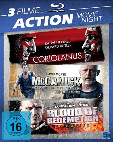 Action Movie Night (Blu-ray) [3 Disc Set]
