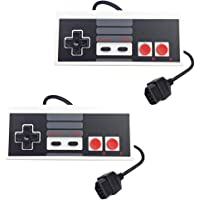 Confezione da 2 controller di ricambio per Nintendo NES 8 Bit Entertainment System, console controller NES Control Pad