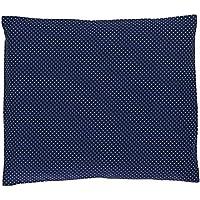 ULLENBOOM ® Baby Kopfkissenbezug 40x35 cm - in 2 Farbkombis & Designs (mit Hotelverschluß, passend zu Baby-Bettwäsche 80x80 cm, Motiv: Punkte)