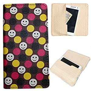 DooDa PU Leather Case Cover For Intex CLOUD FAME 4G