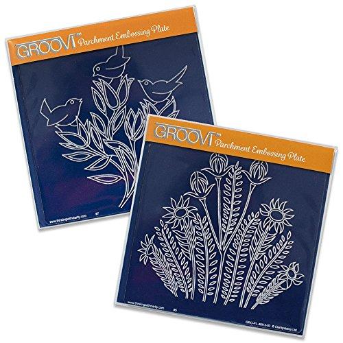 three-wrens-wild-flowers-groovi-plates-set-of2