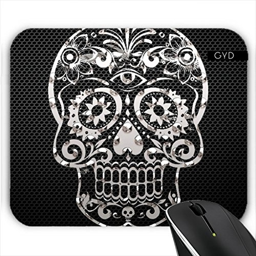 Muismat - Sugarskull MetalArt by More colors in life