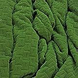 Russo Tessuti Abdeckung Sofa Sofaüberwurf Irge Sinfonia Stretch Sessel 1234Sitzer 3 Sitze grün