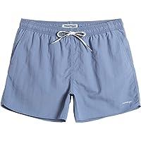 MaaMgic Pantaloncini da Bagno in Nylon da Uomo con Asciugatura Rapida per Spiaggia, Nuoto, e Vacanze al Mare