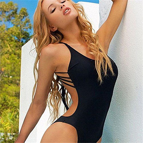 Stayeal Bikini set Sexy Damenmode Swimsuit Swimwear Badeanzug Schwarz Bademode